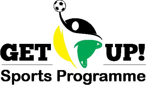 Get Up - Sports Program Logo